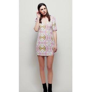 Free People Allie Printed Mini Dress